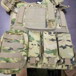 Gilet tattico softair Ciras SSB multicam