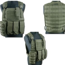 GILET TATTICO SOFTAIR CIRAS SSB OD