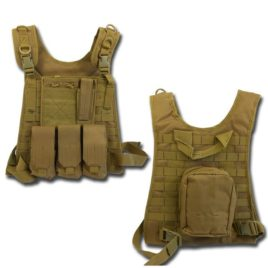 GILET TATTICO SOFTAIR CIRAS SSB TAN